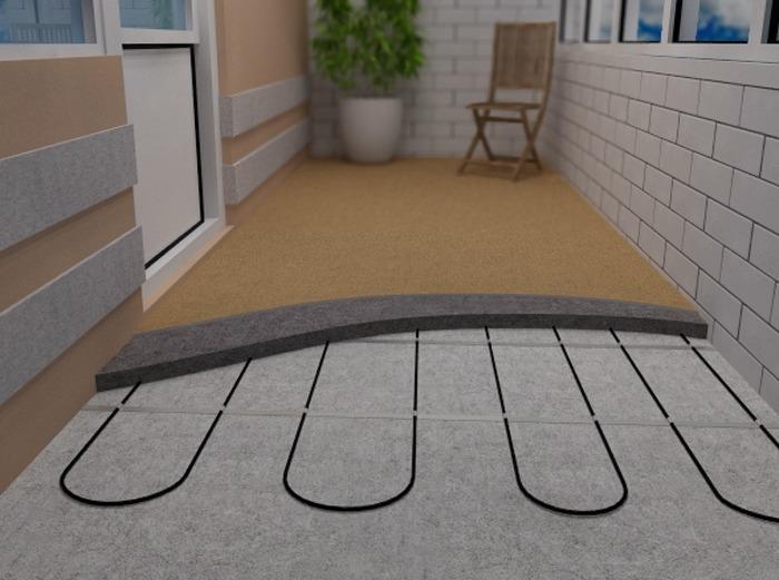Утепление балкона теплый пол. - дизайн маленьких лоджий - ка.