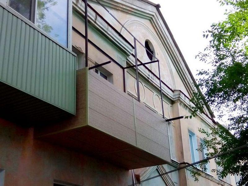 Пристройка балкона или лоджии во владивостоке.