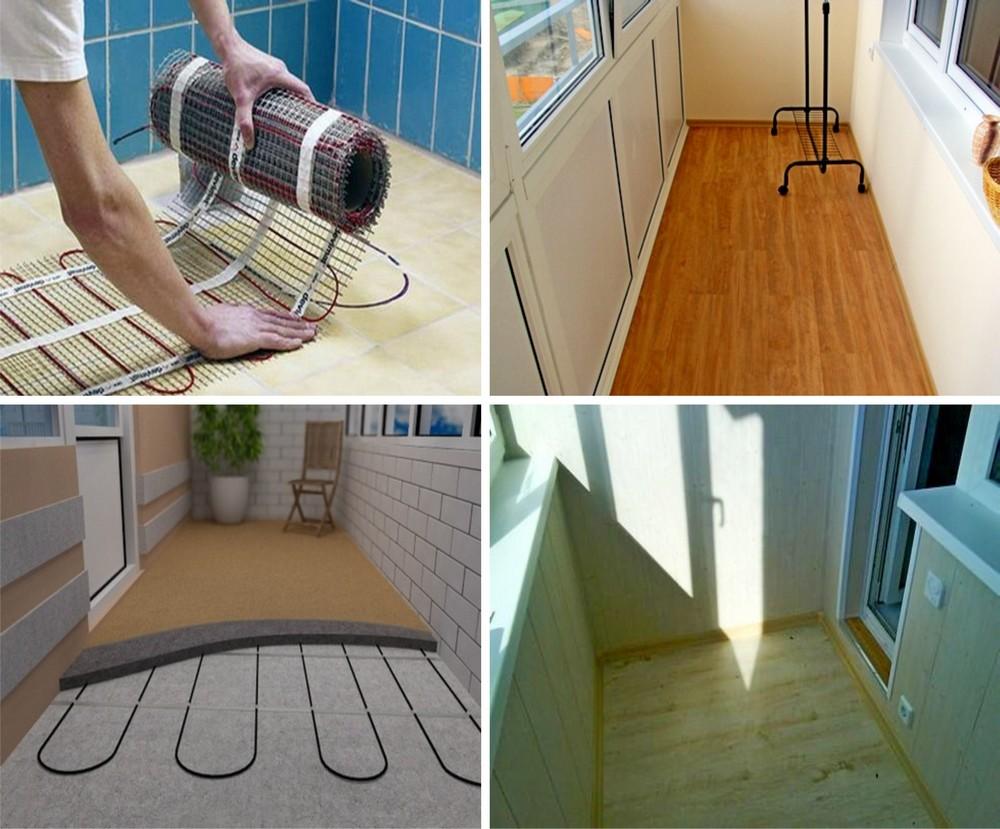 Как можно сделать полы на балконе 349