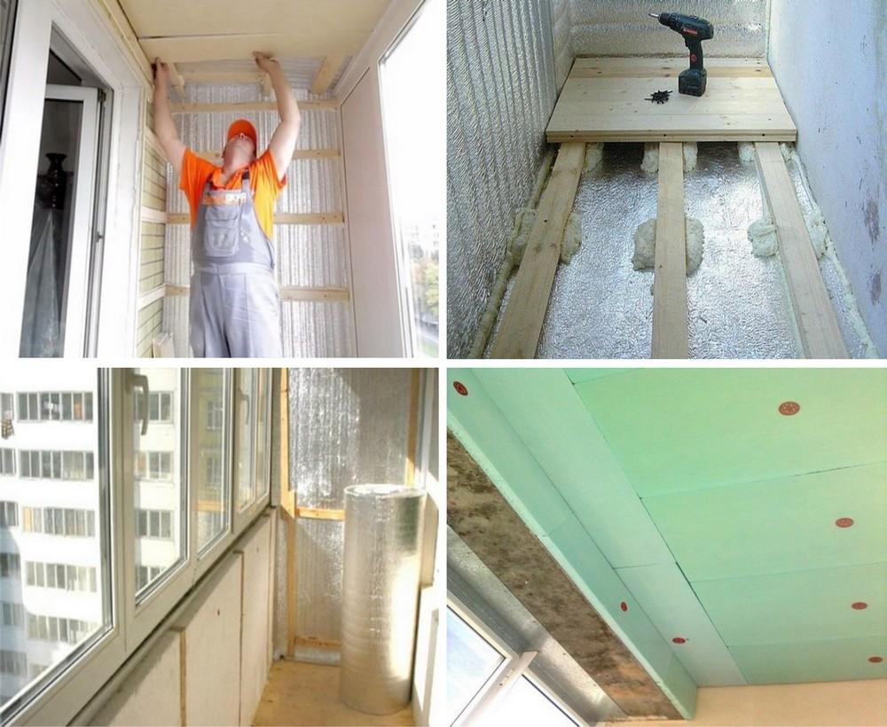 Как утеплить балкон на зиму своими руками 25