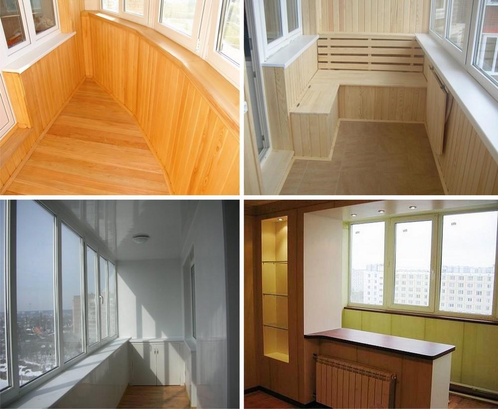 Внутренняя отделка балконов и лоджий во владивостоке.