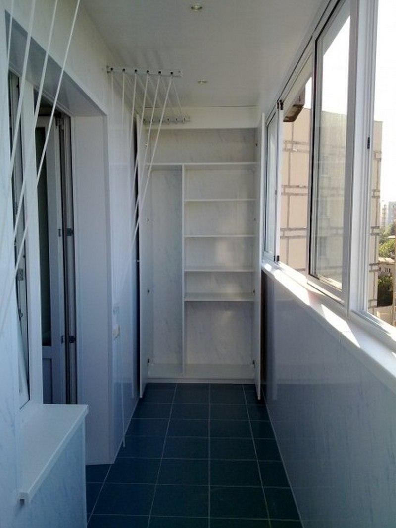 Стеллажи и шкафы на балкон и лоджии - окна госзавод.