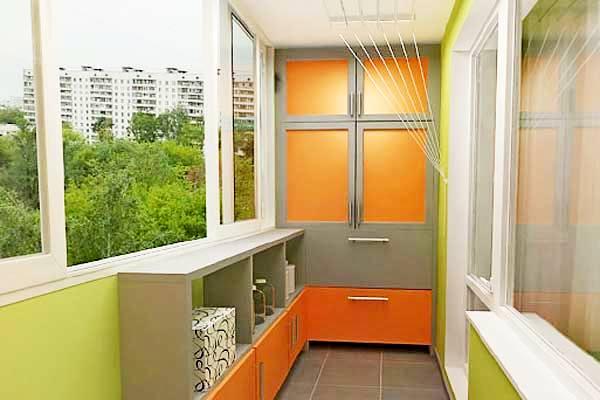 Дизайн мебели на балкон